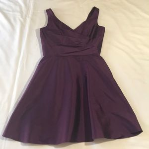 Purple Alfred Sung Dress
